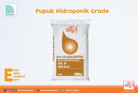 Pupuk Hidroponik PT Meroke Tetap Jaya